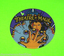 Bally THEATRE OF MAGIC Original NOS Pinball Machine Promo KeyChain Magician