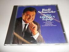 CD  Rudi Schuricke - Seine Grossen Erfolge