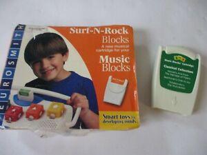 Neurosmith Music Blocks Cartridges Surf N' Rock & Classical  Educational Toy Lot