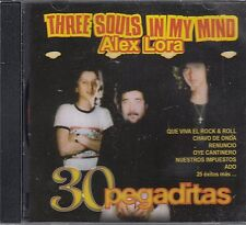 Alex Lora Three Souls in my Mind 30 Pegaditas CD New Nuevo Sealed