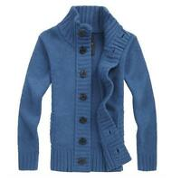 New Men's Slim Knitwear Cardigan Knit Coats Jumper Sweaters Tops Jackets