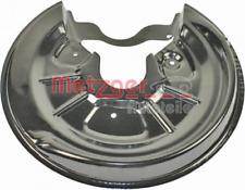 Spritzblech, Bremsscheibe für Bremsanlage Hinterachse METZGER 6115003