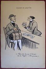 Lithographie, L'agence de location et Location de parasols, Sem, 1919