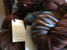 Malabrigo Chunky Yarn 10 skeins 100 yards each,color Charrua