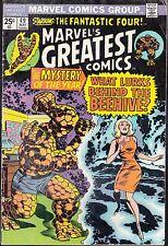 MARVEL'S GREATEST COMICS  #49 1974 VG  FANTASTIC FOUR-vs-BEEHIVE..STAN LEE/KIRBY