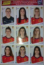 Set 9 Extra Stickers Update Fifa Women's WC France 2019 Spain España Jugón Jugon