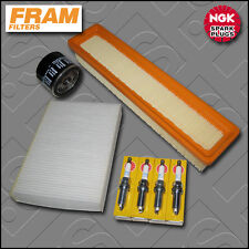 SERVICE KIT RENAULT CLIO MK2 1.2 16V D4F722 OIL AIR CABIN FILTER PLUGS 2003-2005