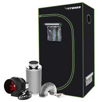 "VIVOSUN 2'x3' Grow Tent w/ 4"" 6"" inch Inline Duct Fan Carbon Filter Ducting Kit"