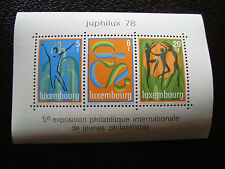 LUXEMBOURG - timbre yvert et tellier bloc n° 12 n** (Z7) stamp (Z)