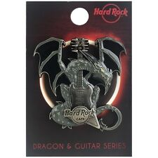 Hard Rock Cafe ONLINE 2017 3-D DRAGON & GUITAR Series PIN New on Card!