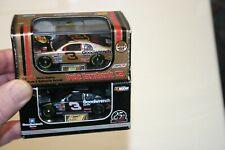 Pair Revell 1:64 Dale Earnhardt Sr #3 Bass Pro & 25th anniv NASCAR Hood Open Car