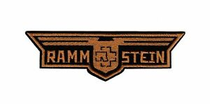Rammstein Patch Hard Rock Industrial Gothic Metal Music Band Wings