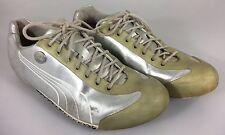 Puma Mihara Yasuhiro Sneakers Silver & Green Mens 7 US 6UK 39EU 25CM Gym Shoes