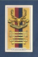 The SEAFORTH HIGHLANDERS The Ross-shire Buffs  1939 original card