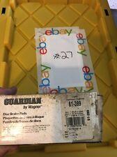 Disc Brake Pad-Wagner Guardian Brake 61-399