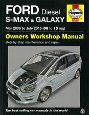 Haynes Handbuch: Ford Galaxy + S-Max 2006-2015 Reparaturanleitung/Reparatur-Buch