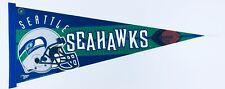 RARE Vintage 1997 Wincraft Seattle Seahawks NFL Pennant Flag Banner 29 1/2