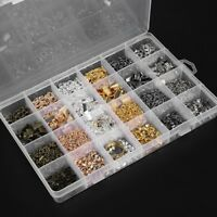 Mixed DIY Jewelry Making Findings Accessories Set Jump Rings Lobster Clasp Box