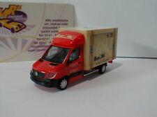 """Herpa 093286 - Mercedes-Benz Sprinter Koffer """" Spedition Wirtz """" in rot 1:87"""