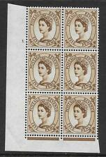 5d Wilding Violet Phosphor 9.5mm cyl 1 No Dot perf type F(L)(I/E) UNMOUNTED MINT