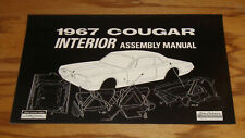 1967 Mercury Cougar Interior Assembly Manual 67