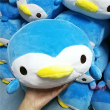 YAMANI Blue Penguin Plush Doll Stuffed Toy Pillow 28cm Rare Gift