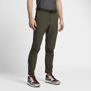 Nike Golf Flex Dynamic Woven Pants - 34 x 32 - 833186-325 Olive Army Cargo Khaki