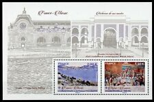 France 2019 MNH Museums JIS Morocco Paul Cezanne 2v M/S Paintings Art Stamps