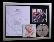 VAN HALEN Panama LIMITED GALLERY QUALITY CD FRAMED DISPLAY+EXPRESS GLOBAL SHIP