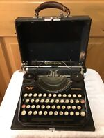 Vintage Continental Wanderer-Werke Akt-Ges. Portable Typewriter German Antique