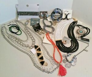 Large Lot Fashion Jewelry Collection,18 pc - Great for gifts or resale- B-A326