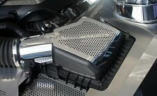 2011-2014 Mustang GT Perforated Polished Stainless Steel 2 pc Air Box Cover