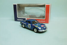 Norev - RENAULT ALPINE A110 rallye Monte Carlo 1973 Neuf NBO 3 inches 1/64