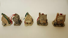 5 RARE LILLIPUT LANE 1993-95 INCL PLUM COTTAGE 2 x ROBIN COTTAGE & 2 x IVY HOUSE