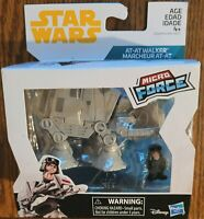 Disney Star Wars MIcro Force At-At Walker with commander playset Hasbro NEW WOW