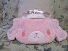 Sanrio Sugarbunnies Minuet Pink Plush purse & 2 ballerina figurines Collection