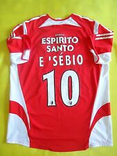 4/5 BENFICA 2005/2006 HOME ADIDAS ORIGINAL FOOTBALL SHIRT JERSEY #10 EUSEBIO