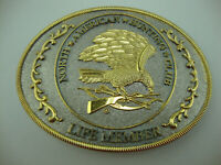 North American Hunting Club Belt Buckle- WINGS OF GOLD