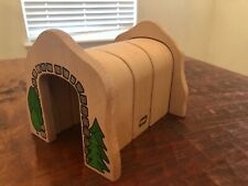 BRIO Adaptable Wooden Train Tunnel Straight Or Curved Mountain