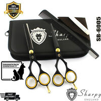 New Professional Pet Dog Grooming Scissors Cutting +Thinning Shears Set Scissors