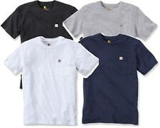 Carhartt 101125 Maddock Workwear T-Shirt with Pocket White/Grey/Navy/Black NEW