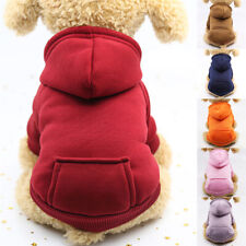 Cat Puppy Dog's Hoodie Pullover Sweatshirt Long Sleeve Warm Outfit 2-leg for Pet