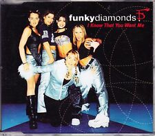 CD Funky Diamonds - I know that you want me - Maxi-CD