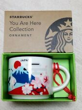 Starbucks JAPAN You Are Here YAH Collectors Demitasse Mug 2oz 59ml