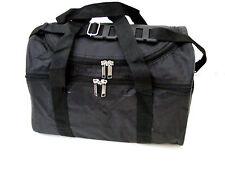 BLACK HOLDALL MULTI USE BAG SCHOOL SPORTS HAND LUGGAGE OVERNIGHT BAG (med)