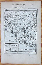 MALLET: Map of Greece - 1683