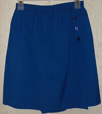 WOMENS ALFRED DUNNER PETITE ROYAL BLUE SKORT  SIZE 10P