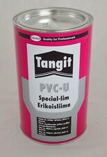 Tangit PVC-U Spezial Kleber für PVC/ Hart-PVC Rohrverbindung, 1Kg Dose Leim