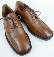 Stacy Adams Size 10.5 M Mens Brown Leather Oxford Shoes EUC
