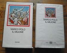 MARCO POLO, IL MILIONE, I MILLENNI EINAUDI, 1973, 10° ED. RD17
